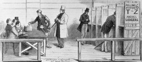Voters-secret-ballot-system-Australian-British-elections-April-17-1880